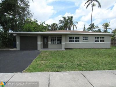 Fort Lauderdale Single Family Home For Sale: 3379 SW 17th St