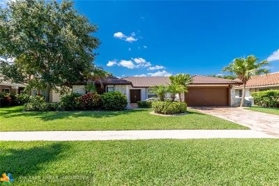 Boca Raton Single Family Home For Sale: 20044 Back Nine Dr