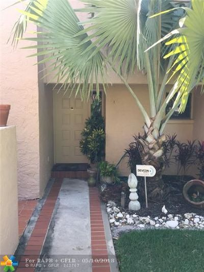Fort Lauderdale Condo/Townhouse For Sale: 5201 NE 14th Ter #8