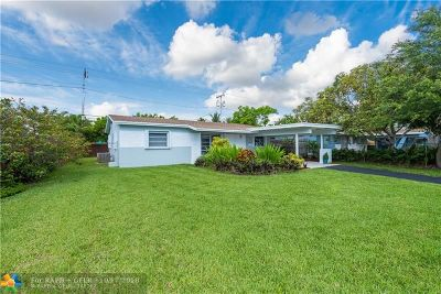 Oakland Park Single Family Home For Sale: 4351 NE 13th Ave