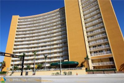 Pompano Beach Condo/Townhouse For Sale: 328 N Ocean Blvd #PH1