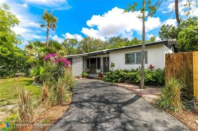 Fort Lauderdale Single Family Home For Sale: 3390 SW 23rd St