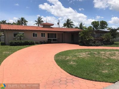 Pompano Beach Single Family Home For Sale: 240 SW 17th St