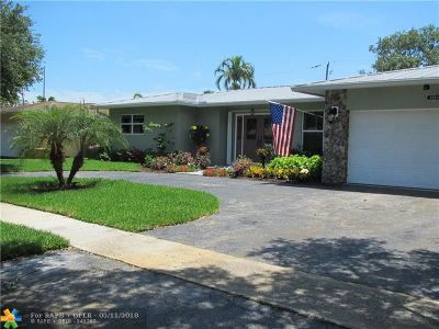 Plantation Single Family Home For Sale: 5260 SW 8th St