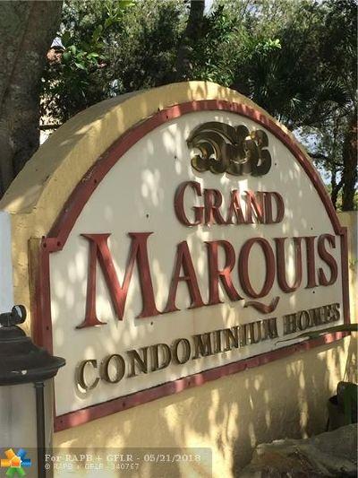 Plantation Condo/Townhouse For Sale: 10155 W Sunrise Blvd #301