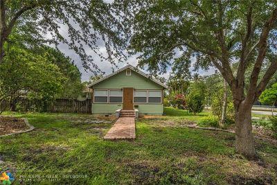 Pompano Beach Single Family Home Backup Contract-Call LA: 400 NE 3rd St