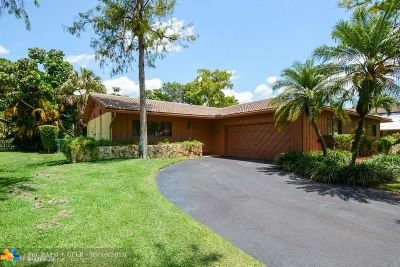 Coral Springs Single Family Home For Sale: 8357 NW 14th Ct