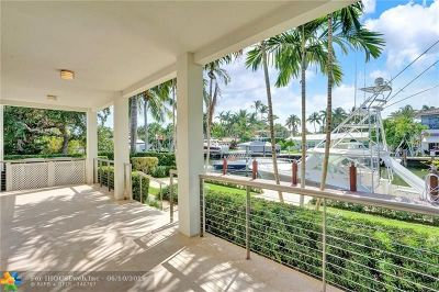 Fort Lauderdale Single Family Home For Sale: 717 Solar Isle Dr