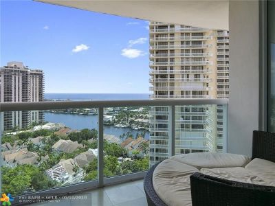 Aventura Condo/Townhouse For Sale: 19400 Turnberry Way #1821