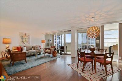 Fort Lauderdale Condo/Townhouse For Sale: 2800 E Sunrise Blvd #7E