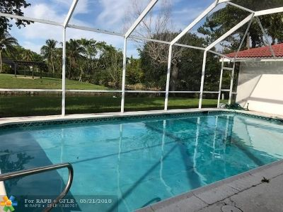 Coral Springs Single Family Home For Sale: 8500 NW 27th Dr