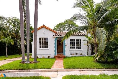 West Palm Beach Single Family Home For Sale: 734 Avon Rd