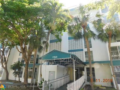 Sunny Isles Beach Condo/Townhouse For Sale: 17620 Atlantic Blvd #503