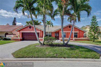 Coral Springs Single Family Home For Sale: 10966 NW 14th St