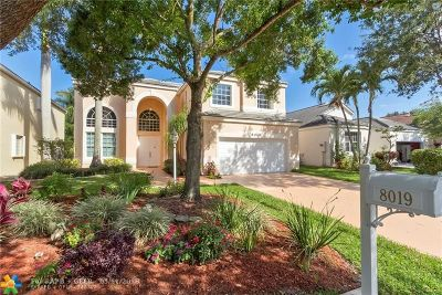 Parkland Single Family Home For Sale: 8019 NW 66th Way