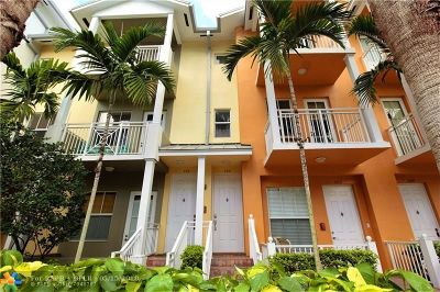 Fort Lauderdale Condo/Townhouse For Sale: 360 SW 13th Ter #360