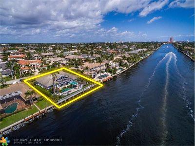 Boca Raton Single Family Home For Sale: 444 E Alexander Palm Rd