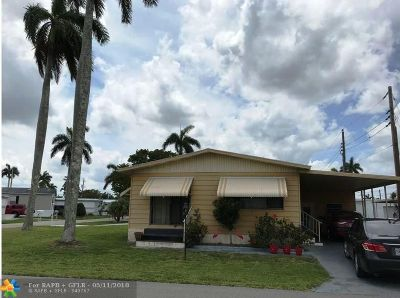 Davie Single Family Home For Sale: 8501 SW 20th Ct