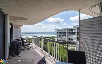 Palm Beach Condo/Townhouse For Sale: 3250 S Ocean Blvd #510 S