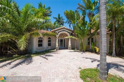 Fort Lauderdale Single Family Home For Sale: 743 NE 17th Ct