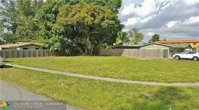 Sunrise Residential Lots & Land For Sale: 64 NW 64 Av