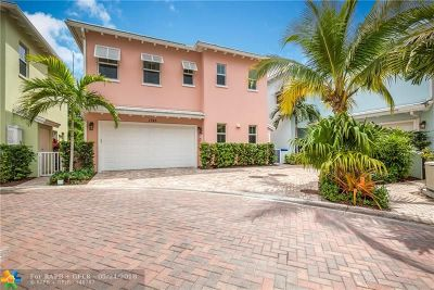 Fort Lauderdale Condo/Townhouse For Sale: 1745 NE 9th #1745