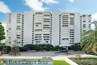 Boca Raton Condo/Townhouse For Sale: 4201 N Ocean Blvd #1106