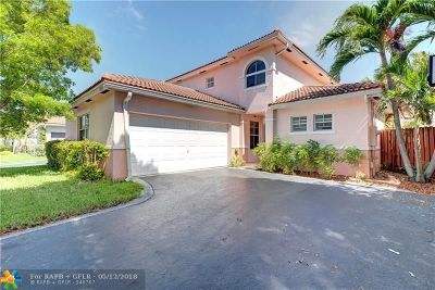 Coconut Creek Single Family Home For Sale: 4769 NW 5th Pl