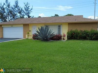 Tamarac Single Family Home For Sale: 9405 NW 80 Pl