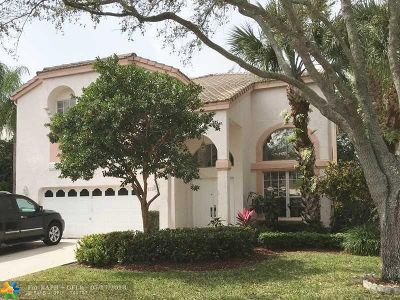 Coral Springs Single Family Home For Sale: 5312 NW 106th Dr