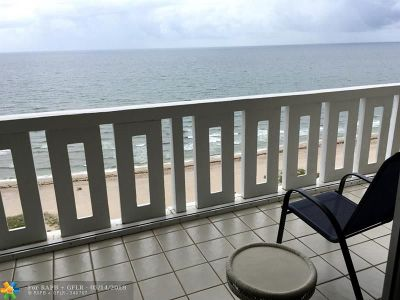 Pompano Beach Condo/Townhouse Backup Contract-Call LA: 1012 N Ocean Blvd #PH8