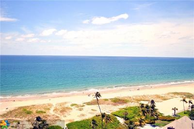 Lauderdale By The Sea Condo/Townhouse For Sale: 2000 S Ocean Blvd #14K