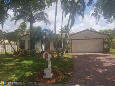Coral Springs Single Family Home For Sale: 8559 NW 2nd St