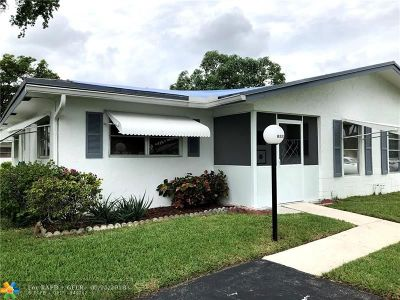 Plantation Condo/Townhouse For Sale: 8533 NW 11th St #A-165