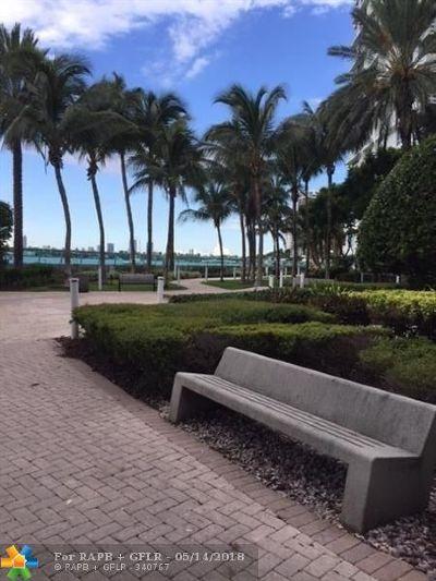 Miami Beach Condo/Townhouse For Sale: 1500 Bay Rd #236S