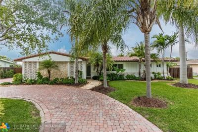 Coral Gables Single Family Home For Sale: 6345 Marlin Dr