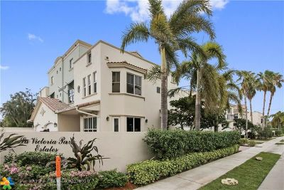 Fort Lauderdale Condo/Townhouse For Sale: 1782 NE 9th St #1782
