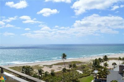Pompano Beach Condo/Townhouse For Sale: 2000 S Ocean Blvd #8J