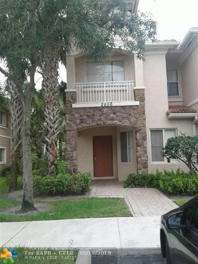 Miramar Condo/Townhouse Backup Contract-Call LA: 2856 SW 83 Ave #101