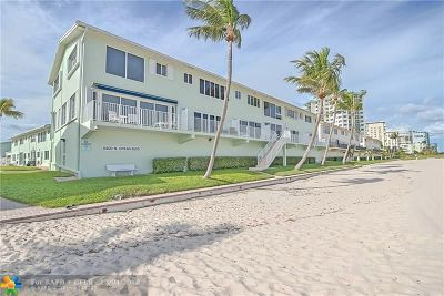 Lauderdale By The Sea Condo/Townhouse For Sale: 5400 N Ocean Blvd #57