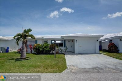 Pompano Beach Single Family Home For Sale: 330 NW 25th Ct