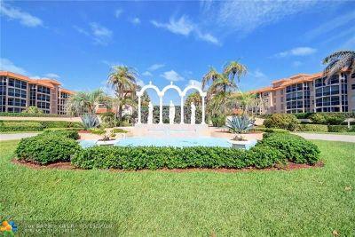 Boca Raton Condo/Townhouse For Sale: 2871 N Ocean Blvd #F-439