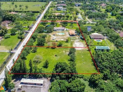 Southwest Ranches Residential Lots & Land For Sale: 0000 Appaloosa