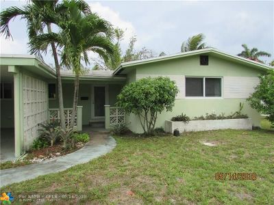Broward County Single Family Home For Sale: 3411 NW 5th Ave