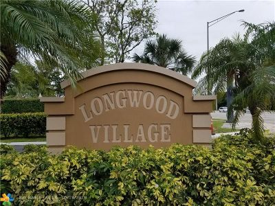 Plantation Condo/Townhouse Backup Contract-Call LA: 907 NW 79th Ter #907