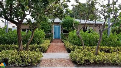 West Palm Beach Single Family Home For Sale: 411 26th St