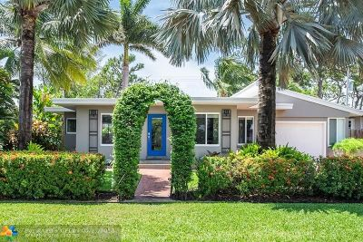 Wilton Manors Single Family Home For Sale: 1710 NE 27th Dr