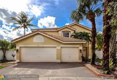 Miramar Single Family Home For Sale: 3385 SW 173rd Way