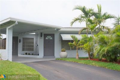 Deerfield Beach Single Family Home Backup Contract-Call LA: 809 SE 14th Ct