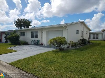 Margate Single Family Home Backup Contract-Call LA: 6910 NW 14th Ct